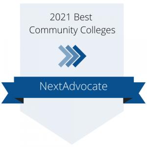 2021 Best Community Colleges Badge