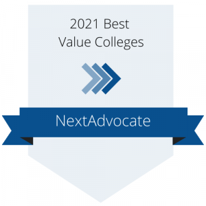 2021 Best Value Colleges Badge