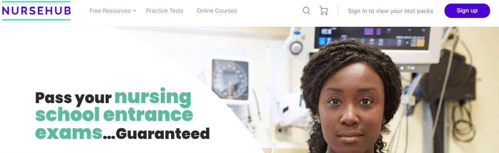 NurseHub Homepage