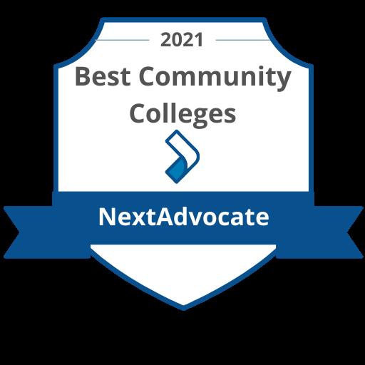 Best Community College Badge