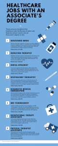 Healthcare Jobs With an Associate's Degree