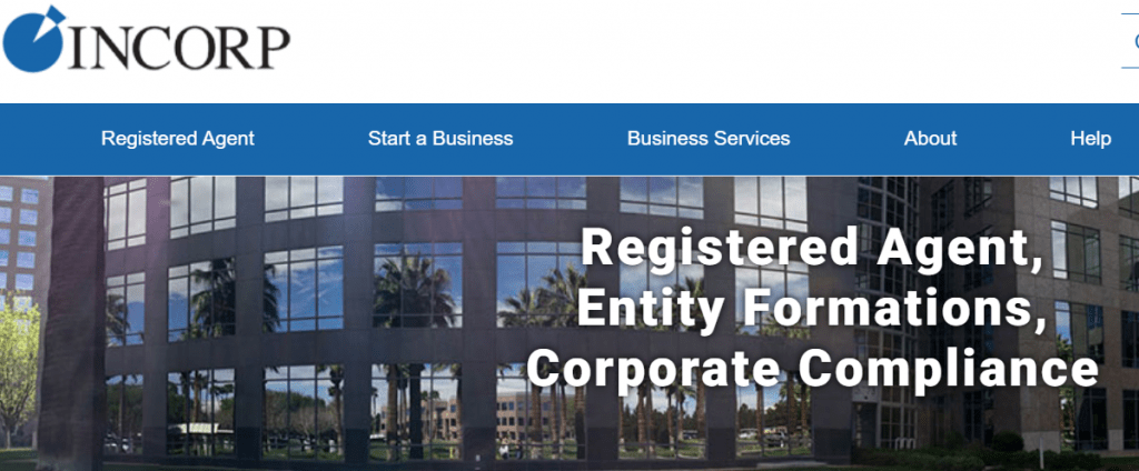 Incorp LLC Formation Services Homepage