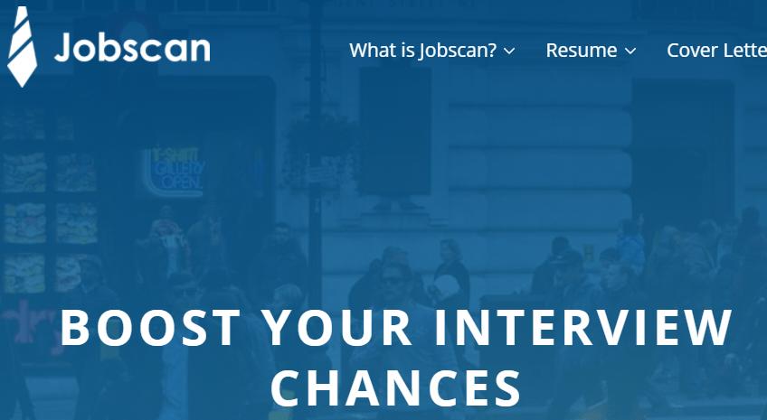 Jobscan Homepage