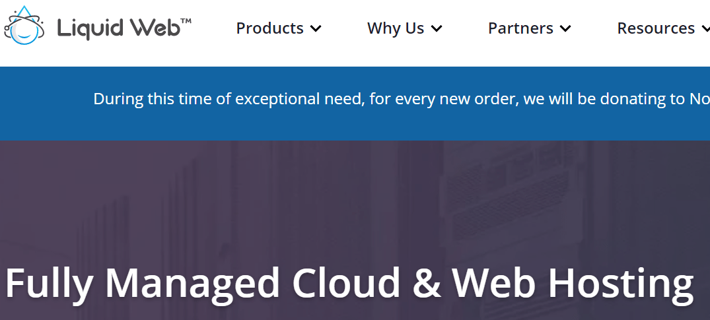 Liquid Web Homepage