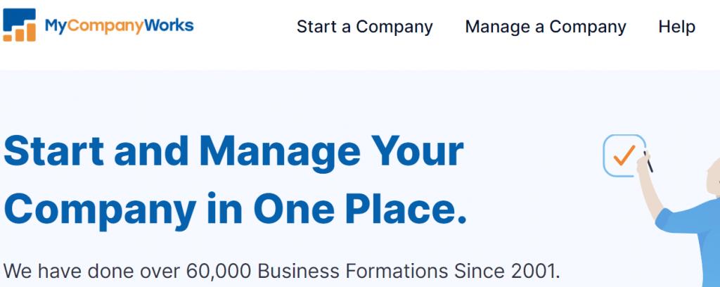 MyCompanyWorks Homepage