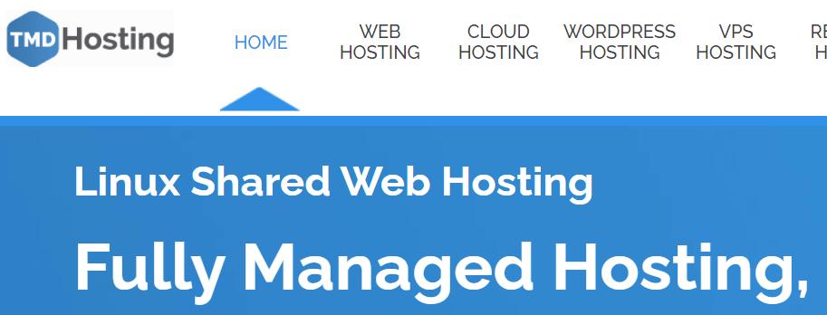 TMD Web Hosting Homepage